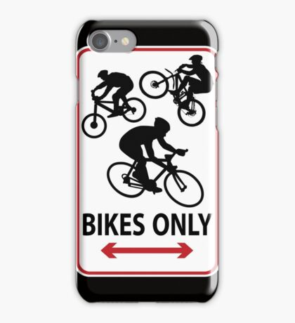 Bikes Only iPhone Case/Skin