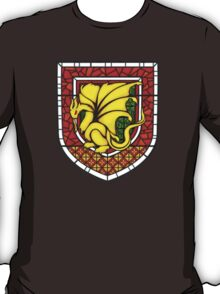 Stained Glass Pendragon Crest T-Shirt