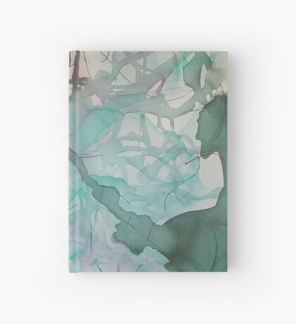 Flowing Abstract 6 Hardcover Journal