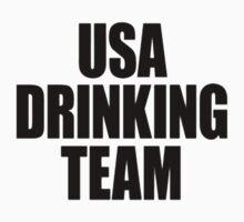 USA Drinking Team [Black] by imjesuschrist