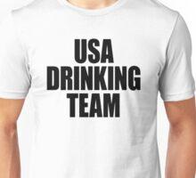 USA Drinking Team [Black] Unisex T-Shirt