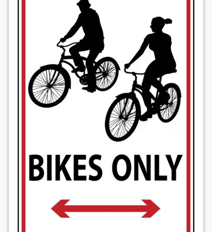 Hipsters Only Sticker