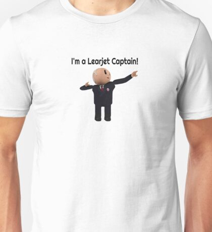Learjet Captain gear Unisex T-Shirt