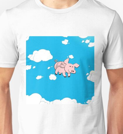 Pigs might Fly Unisex T-Shirt