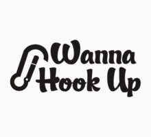 Rock Climbing Wanna Hook UP T-Shirt