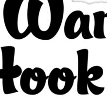 Rock Climbing Wanna Hook UP Sticker