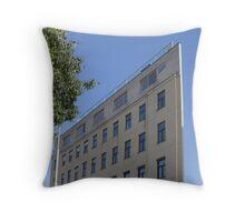 Flat House, Vienna Austria Throw Pillow