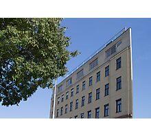 Flat House, Vienna Austria Photographic Print