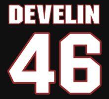 NFL Player James Develin fortysix 46 by imsport