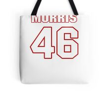 NFL Player Alfred Morris fortysix 46 Tote Bag