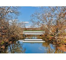 Westport Covered Bridge Photographic Print