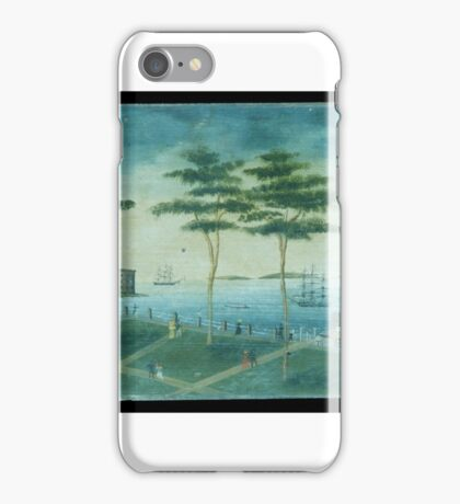 View of the Battery, New York iPhone Case/Skin