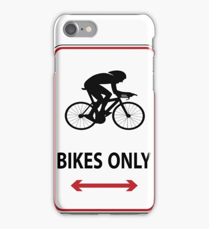 Time Trial Only iPhone Case/Skin