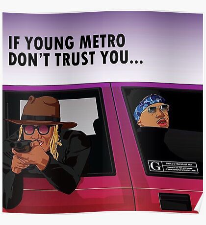 young metro Poster