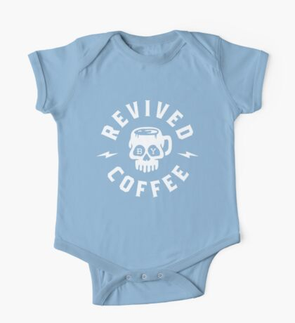 Revived By Coffee One Piece - Short Sleeve