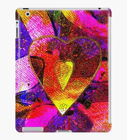 Hearts Collage for Valentine's Day iPad Case/Skin