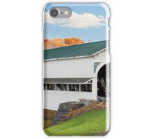 Covered Bridge at Westport iPhone Case/Skin