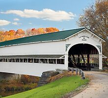 Covered Bridge at Westport by Kenneth Keifer