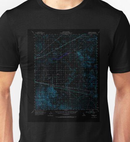 USGS TOPO Map California CA Newberry 298365 1955 62500 geo Inverted Unisex T-Shirt