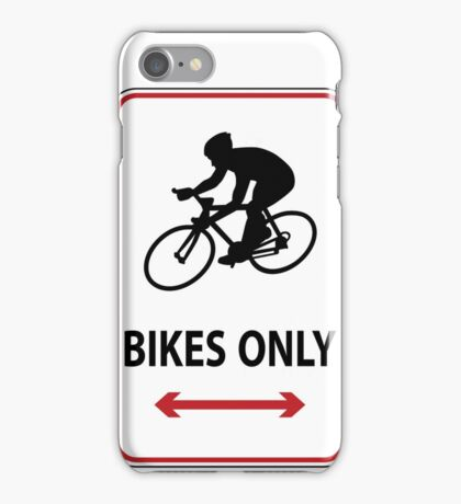 Road Bikes Only iPhone Case/Skin