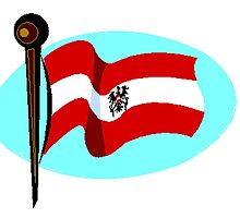 Old Austria Flag by kwg2200