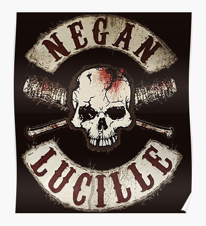 negan - Lucille Poster