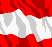 Austria Flag Sticker