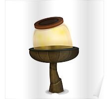 Glitch furniture tablelamp firefly jar table lamp Poster