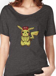 Geometric Pikachu Women's Relaxed Fit T-Shirt
