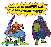 Beaver Heroes by Nargren
