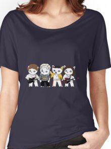 Meow rock band Women's Relaxed Fit T-Shirt
