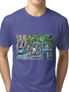 New Orleans Carriage Ride Tri-blend T-Shirt