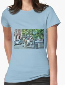 New Orleans Carriage Ride Womens Fitted T-Shirt