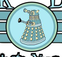 Dalek Diner 2 Sticker