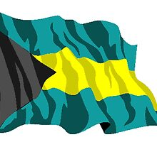 Bahamas Flag by kwg2200