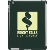 Bright Falls Light & Power (Alt.) iPad Case/Skin