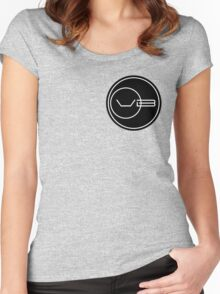 Von Braun Logo (Small) Women's Fitted Scoop T-Shirt