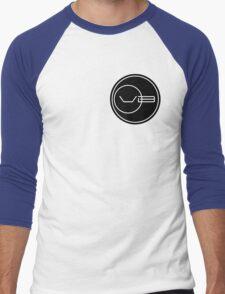 Von Braun Logo (Small) Men's Baseball ¾ T-Shirt