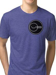 Von Braun Logo (Small) Tri-blend T-Shirt