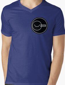 Von Braun Logo (Small) Mens V-Neck T-Shirt