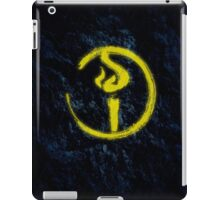 Light Bearer Symbol iPad Case/Skin