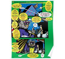Bird of Steel Comix – # 6 of 8 -  (Red Bubble POP-ART COLLECTION SERIES)  Poster