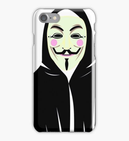 Anonymous Hoodie iPhone Case/Skin