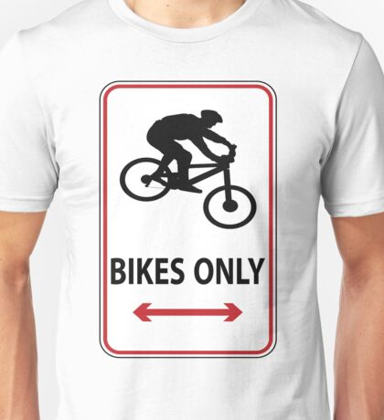 MTB down Unisex T-Shirt