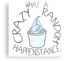 """Crazy Random Happenstance"" Dr Horrible Metal Print"