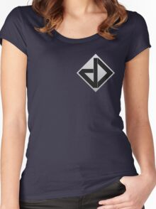 Datadyne (Small Logo) Women's Fitted Scoop T-Shirt