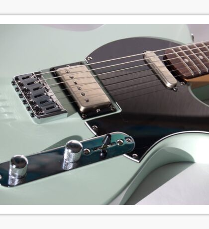 Komu Guitar Surf Green Sticker
