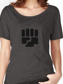 Fighting Type Symbol Women's Relaxed Fit T-Shirt