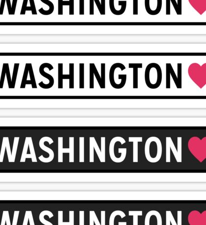 Washington BW Sticker