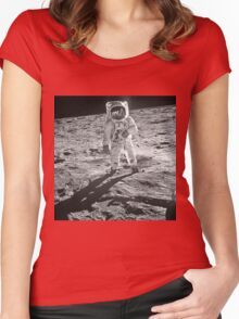 """Exclusive """" Space """" a 5 (c)(h) olao-olavia by okaio créations 2017 Women's Fitted Scoop T-Shirt"""